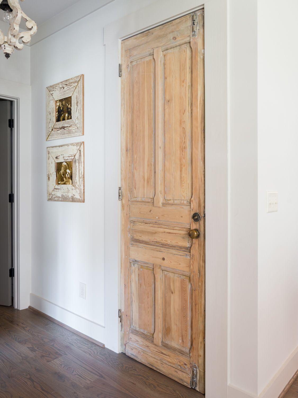 Antique Finished Wood Interior Door Go Willow Homes Wood Doors Interior Doors Interior Farmhouse Interior