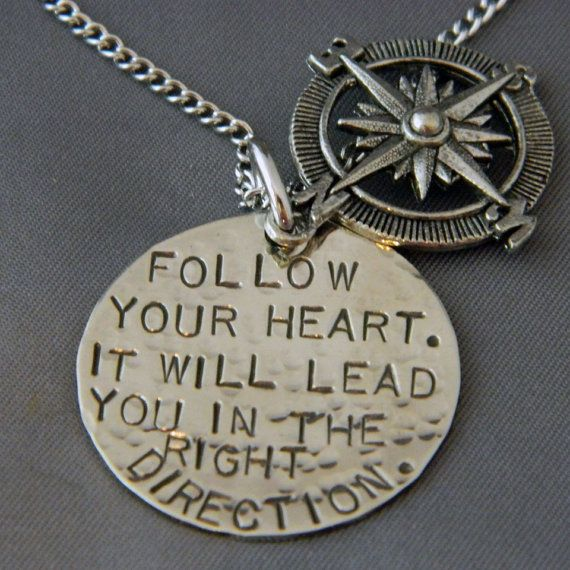 Follow Your Heart It will Lead you in the Right by WireNWhimsy, $28.00