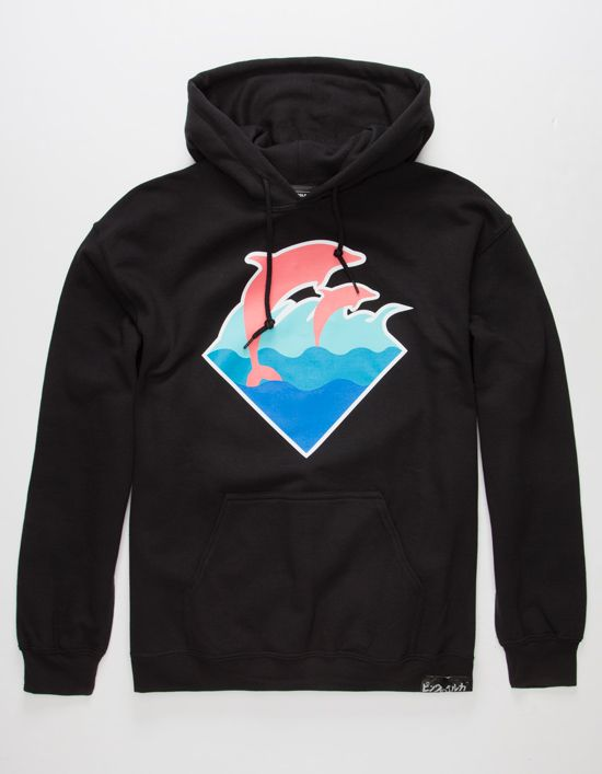 4c6470b6 PINK DOLPHIN OG Waves Mens Hoodie | Sweaters | Pink dolphin, Hoodies ...