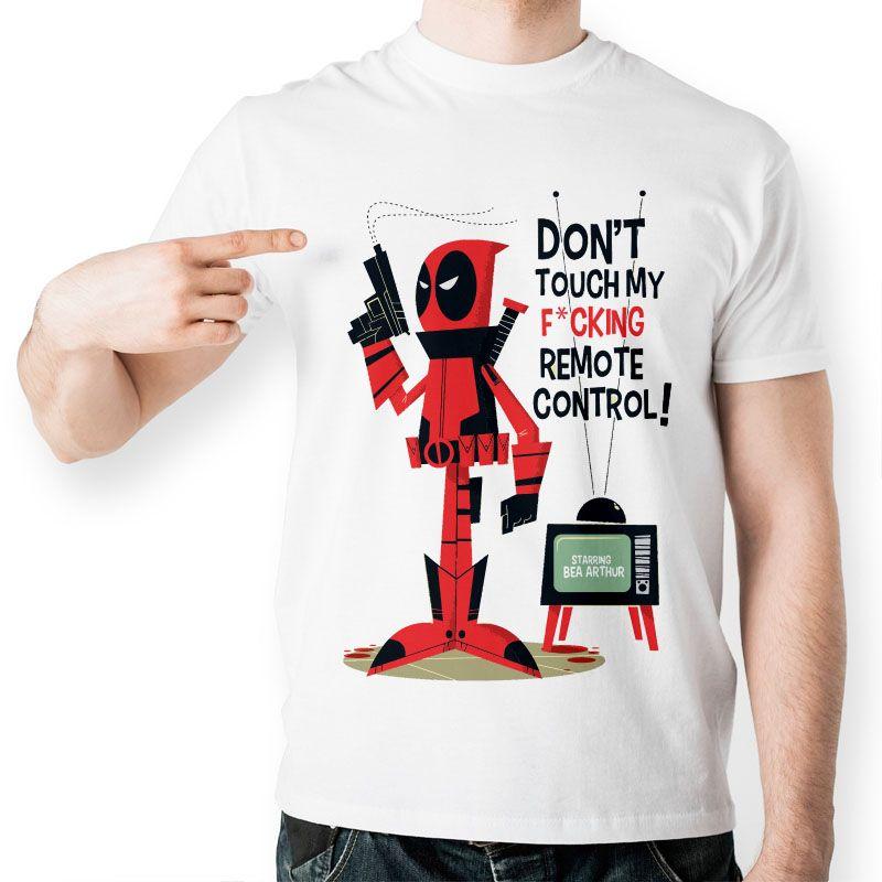 Eatge Top Cool Deadpool T Shirt Funny Dead Pool T Shirt Fashion