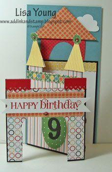 """Happy Birthday"" auf kreative Art."
