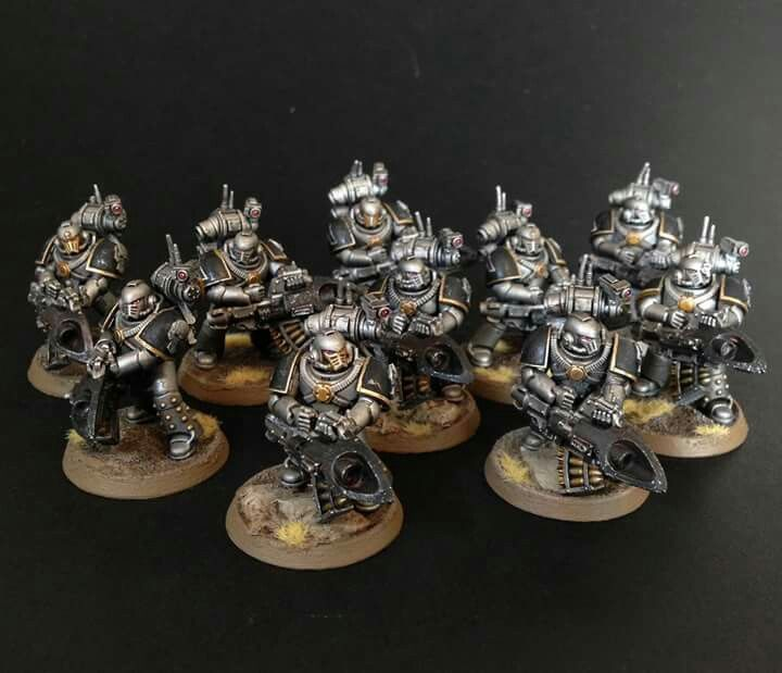 Iron Warriors with Missile Launchers