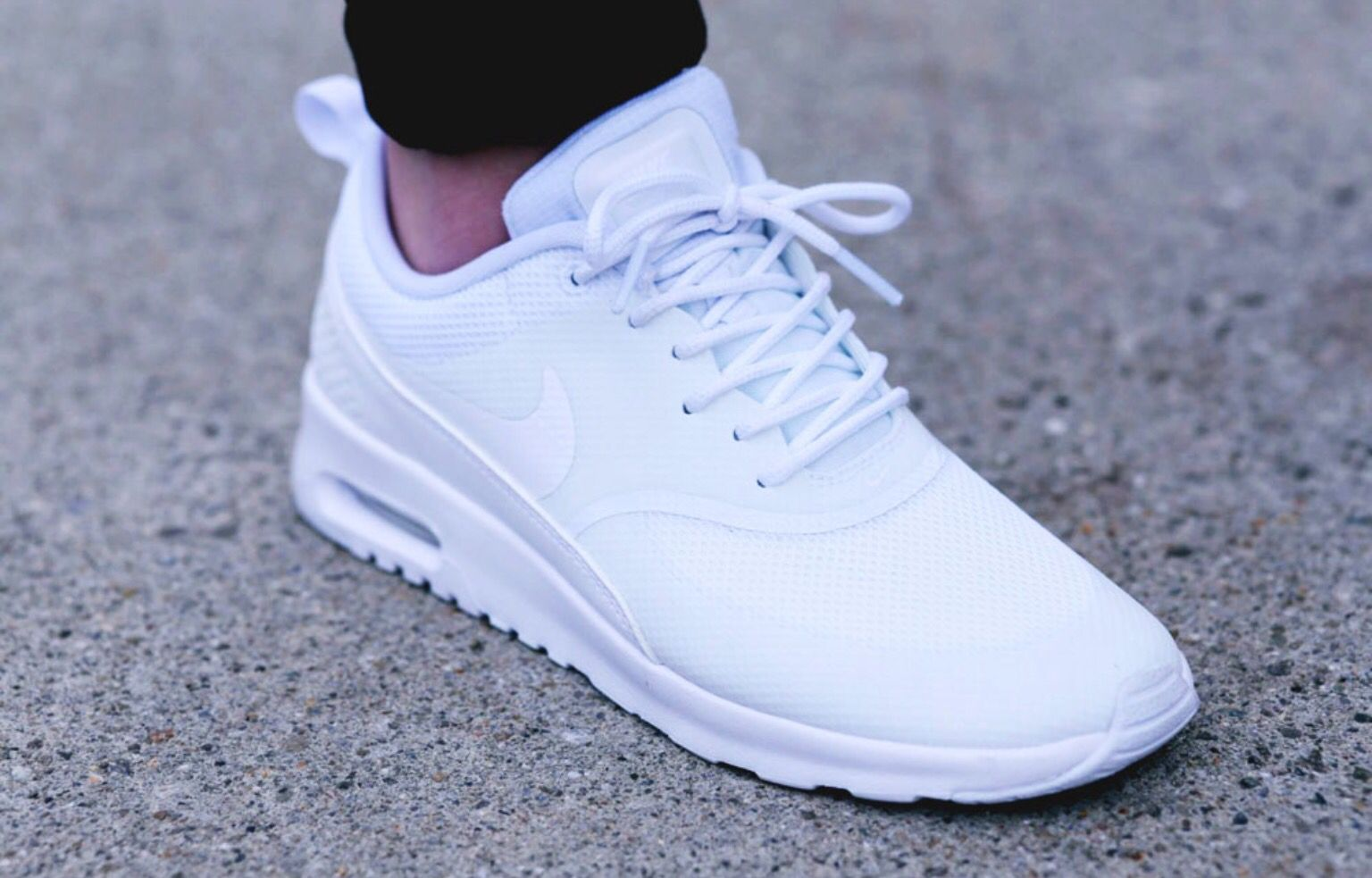 White nike air max thea | Creps in 2018 | Pinterest | Shoes