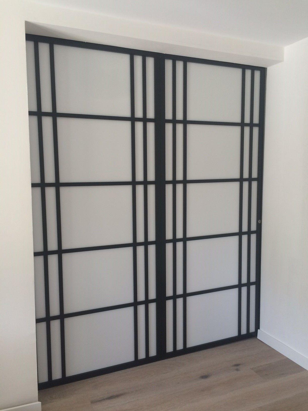 cloison coulissante sur mesure votre go t cloison japonaise coulissante et porte pinterest. Black Bedroom Furniture Sets. Home Design Ideas
