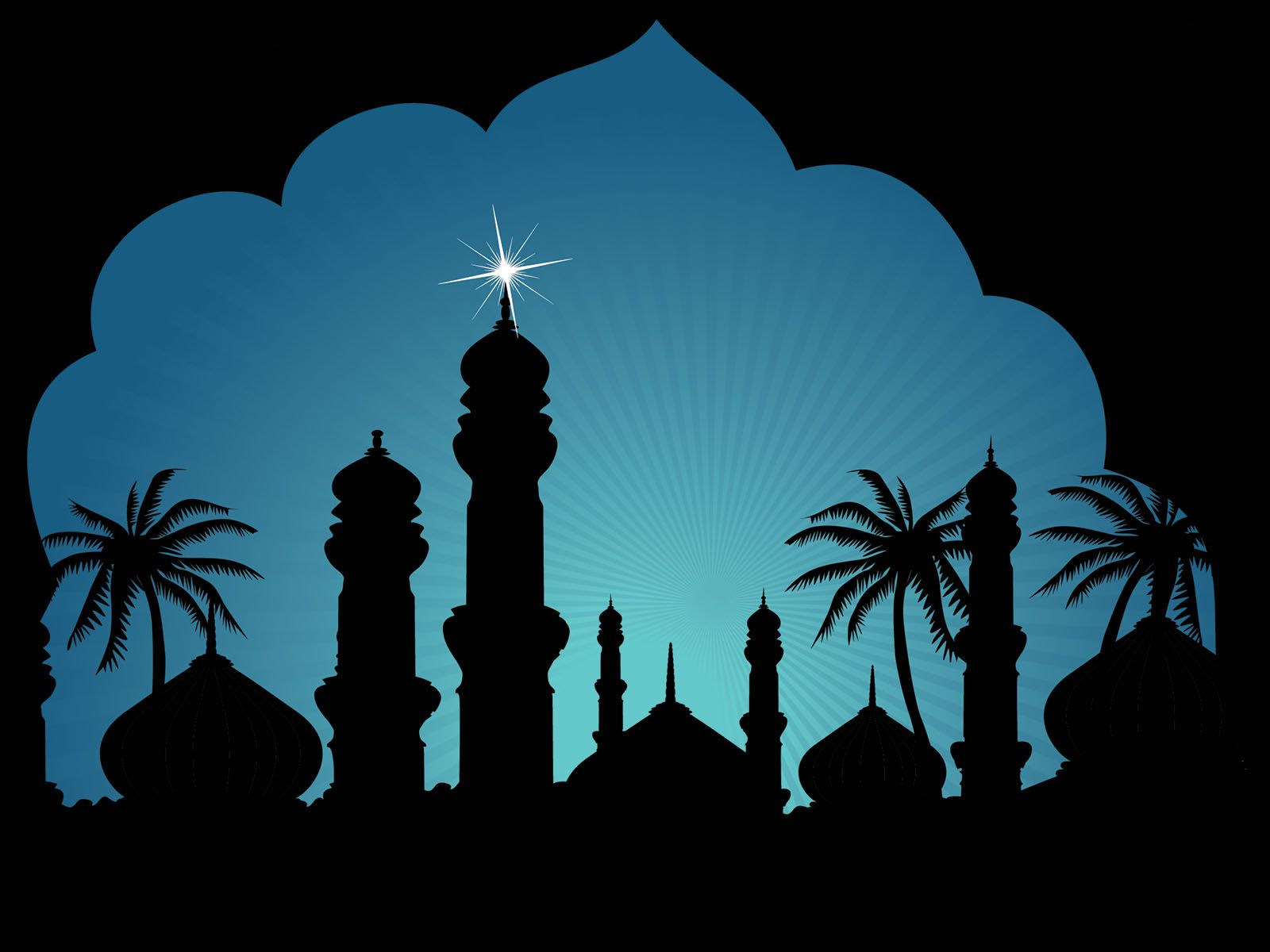islamic powerpoint templates   religious powerpoint templates, Powerpoint templates