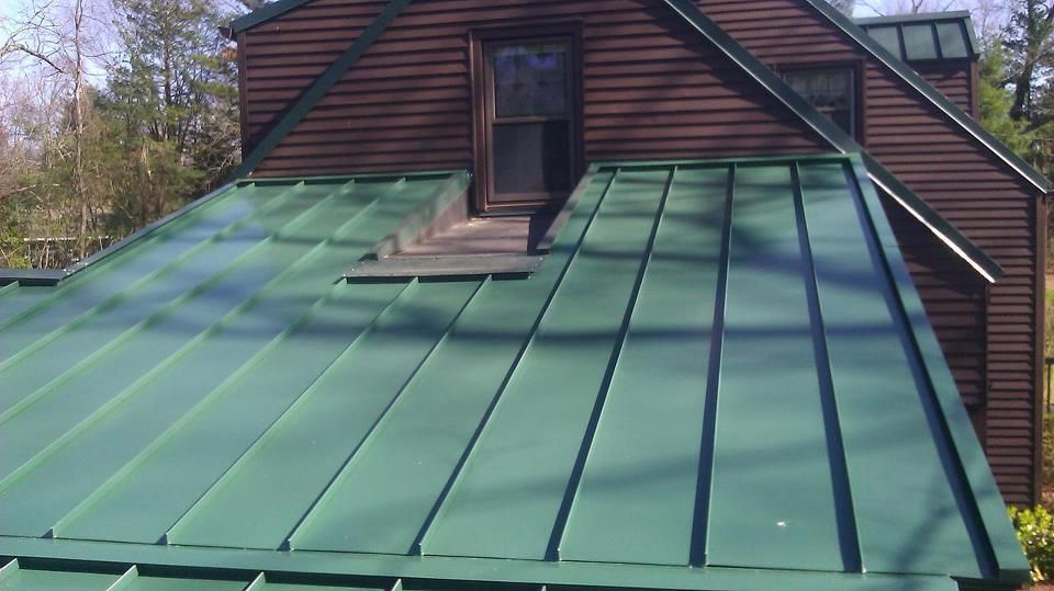 Pros And Cons Of Metal Roofing Myth Busters Standingseammetalroof Info Standing Seam Metal Roofing Facts Metal Roof Standing Seam Metal Roof Installation