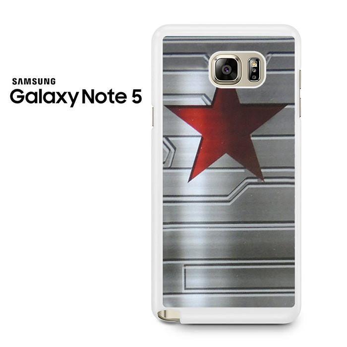 Bucky Barnes Star Symbol Samsung Galaxy Note 5 Case Bucky Barnes
