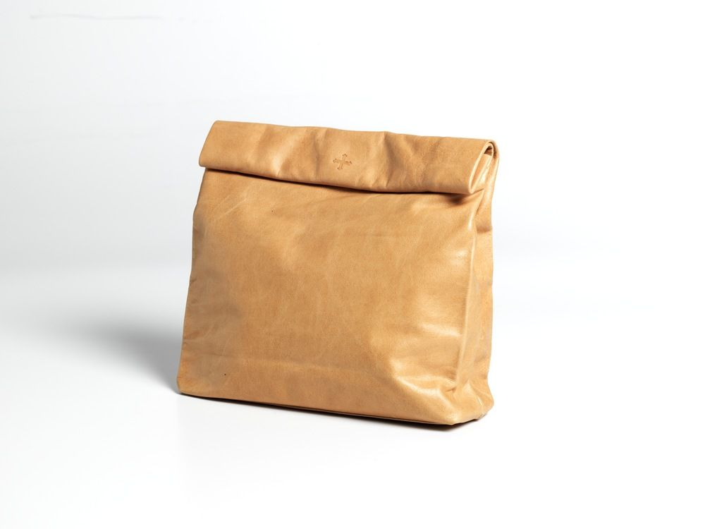 Purse picnic clutch by marie turnor what looks like a brown paper purse picnic clutch by marie turnor what looks like a brown paper bag is really malvernweather Choice Image
