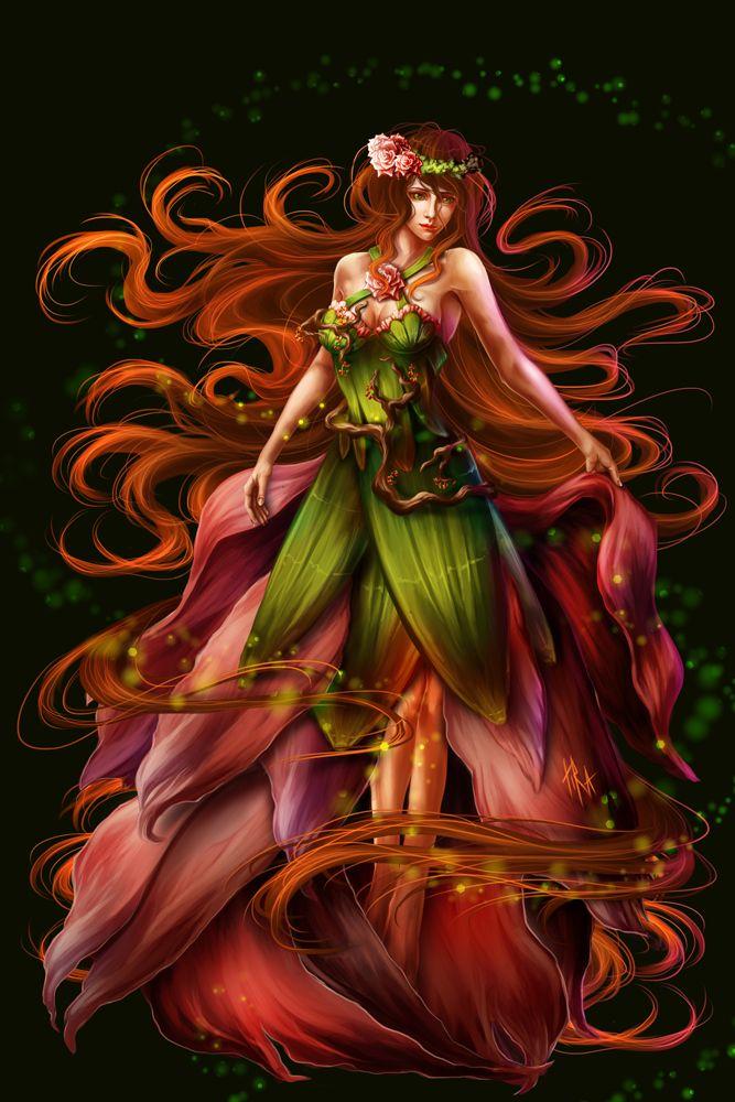 Mother Nature by TiraOwl on deviantART Fantasy art