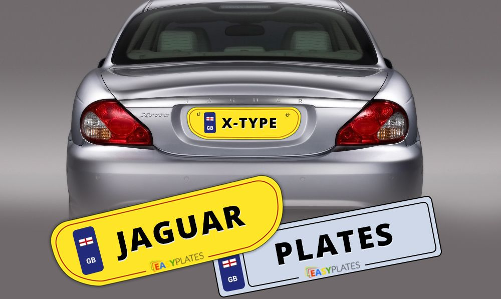 Order your replacement Jaguar number plates online today. Choose ...