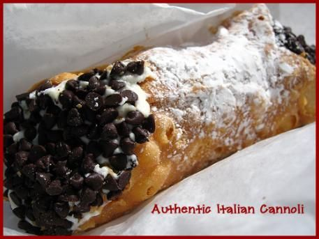 Cannoli by Mail | Delivering a little taste of Sicily to your front door! Also confetti and other items