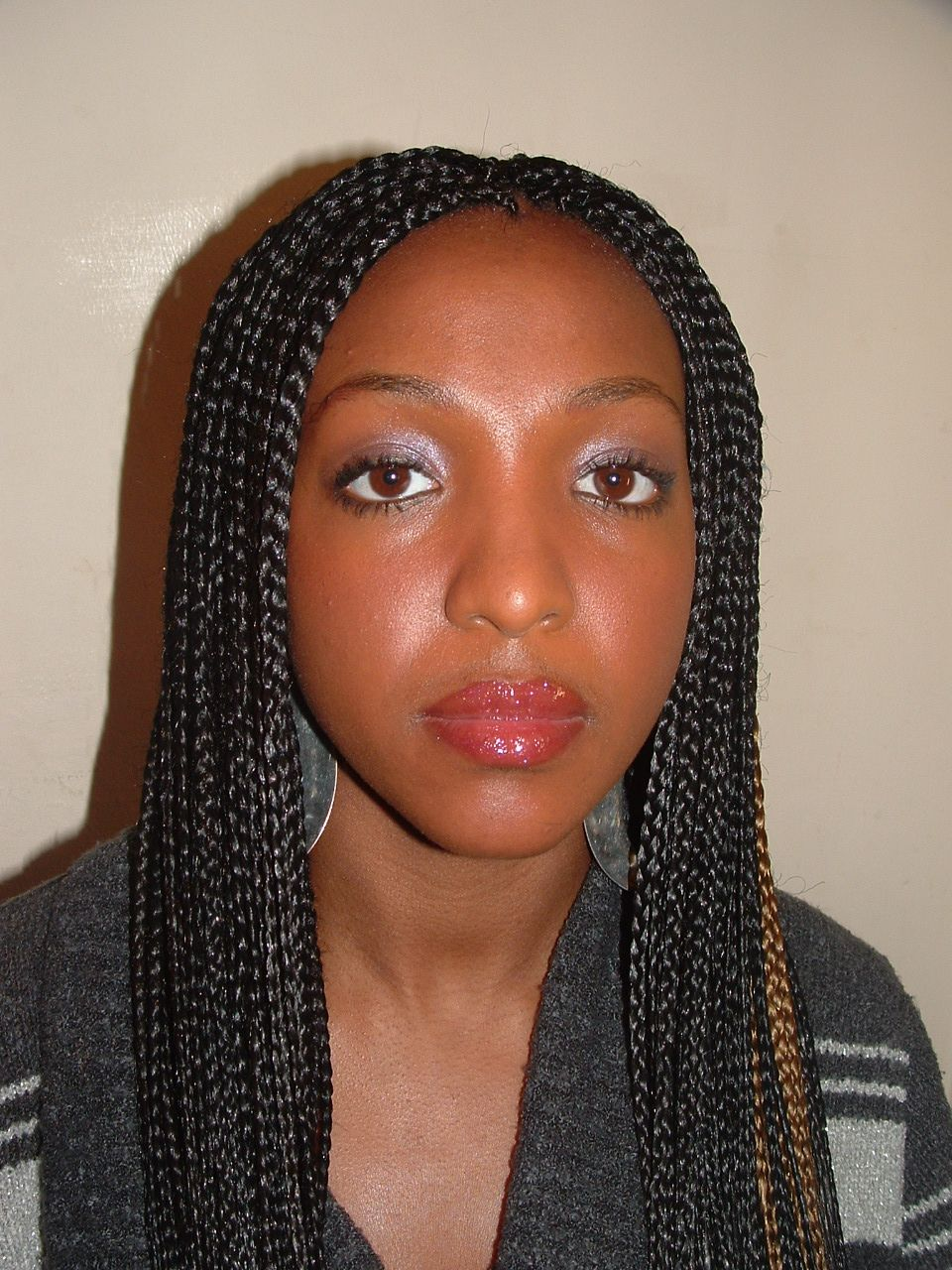 the single plaits box braids | fabulous hair | braided