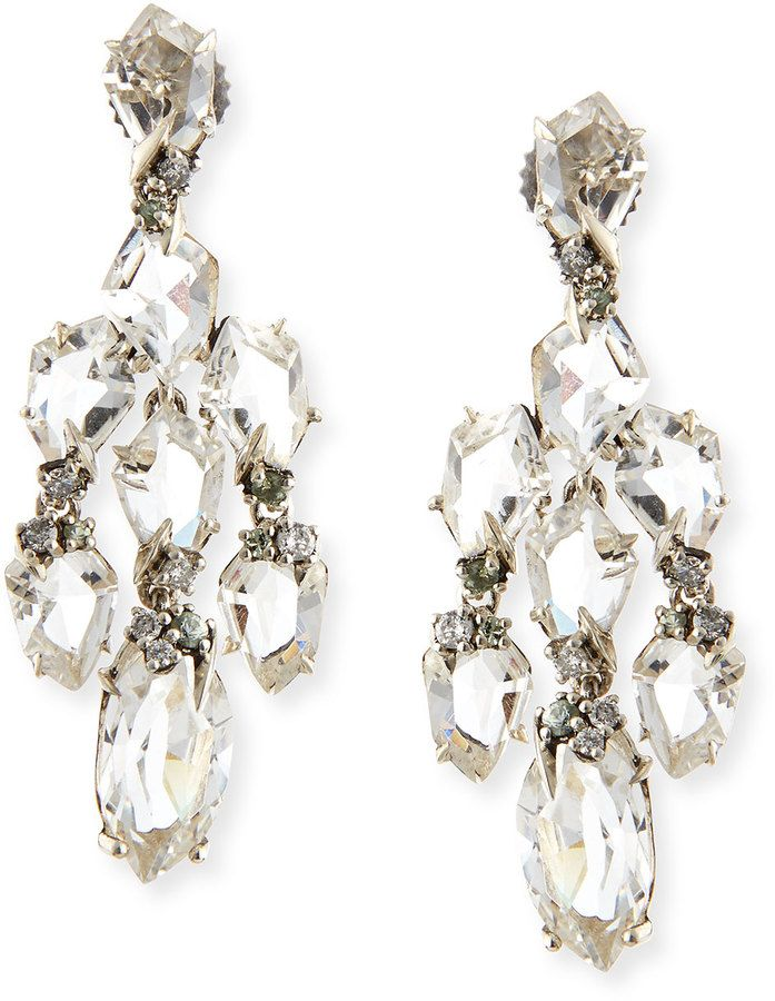 Alexis bittar fine small chandelier earrings jewels pinterest alexis bittar fine small chandelier earrings aloadofball Image collections