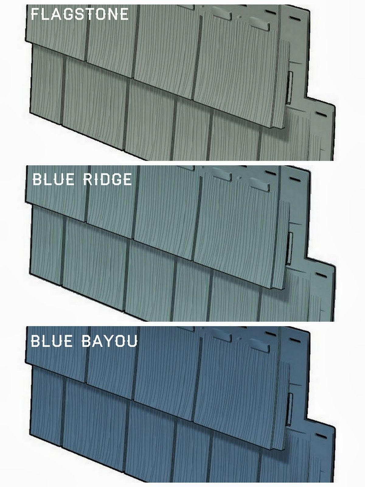 Vinyl siding colors blue green gray google search new for Grey vinyl siding colors