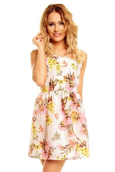 0fb69863c Super seje Blomstret Kjole Alle kjoler til Damer til hverdag og til ...