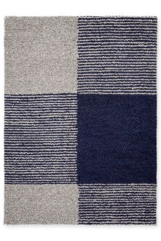 Buy Navy Hofoten Check Rug From The Next Uk Online Shop Large Wool Rugs Rugs Rug Inspiration