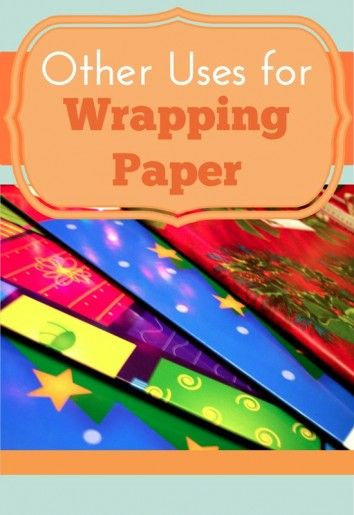 Other Ideas To Use Wrapping Paper. Be Sure To Grab The Deals When Wrapping  Paper