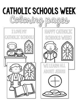 Catholic Schools Week Coloring Pages: Celebrate Catholic