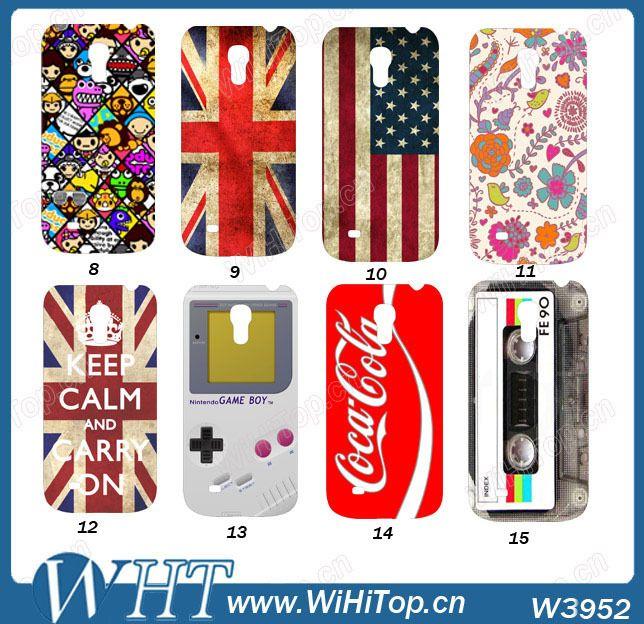 innovative design 09356 d9c05 Aliexpress.com : Buy Galaxy S4 Mini Hard Case.Flag/Tape/Calculator ...