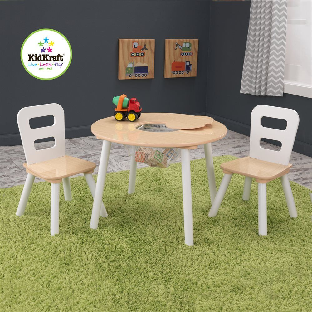 56.02 $    KidKraft Kids Round Storage Table U0026 Chair Set At ATG Stores.