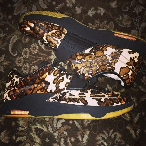 """The Nike KD 7 """"Pony Hair"""" just might be the first EXT pair for the new KD 7  silhouette. The shoes were just debuted by Durant himself and feature a set  of ..."""