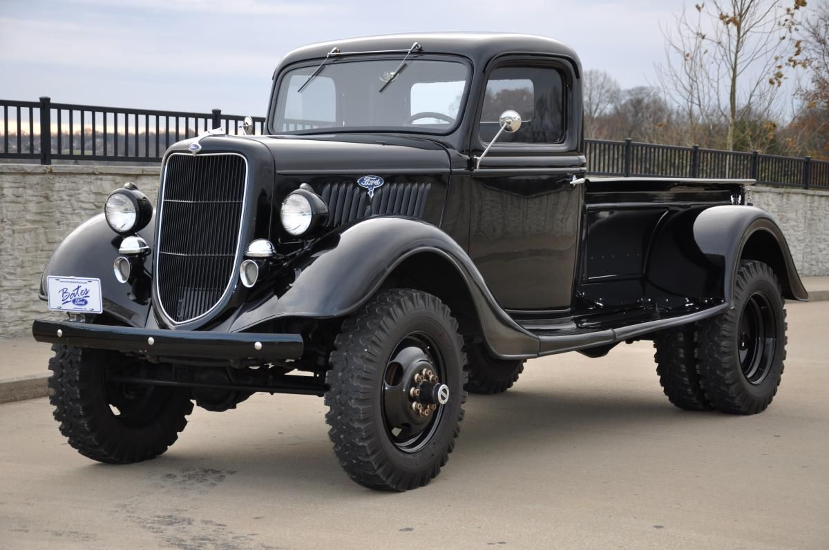 Images about trucks amp cars on pinterest ford trucks and ford trucks - Vintage Trucks 1935 Ford Dually Rccrawler