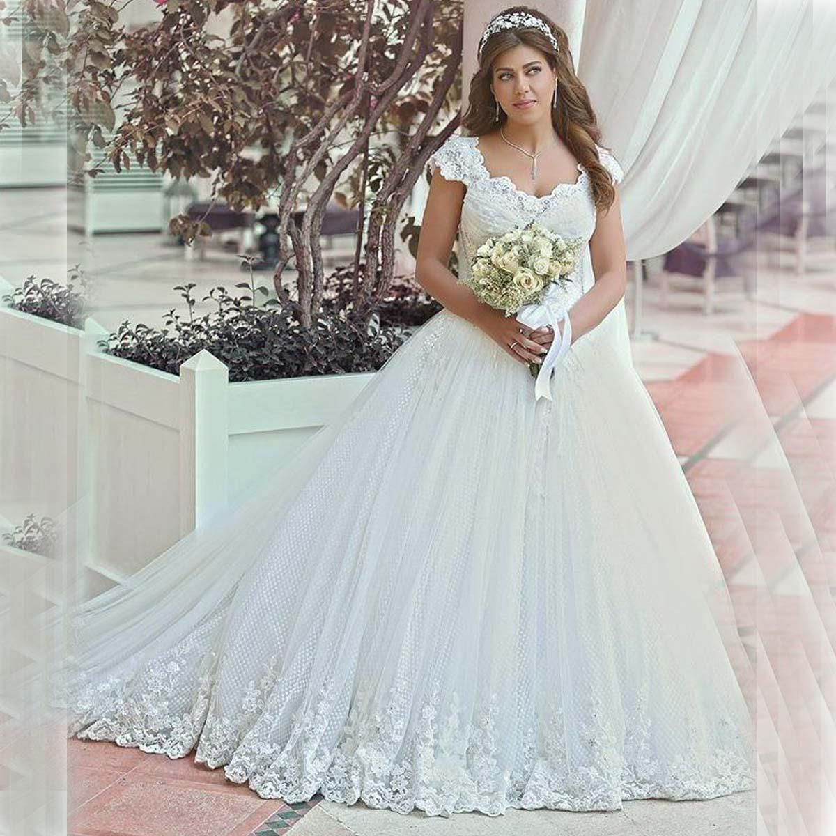 China Wedding Dresses Plus Size Wedding Dresses 2015 With Cap ...