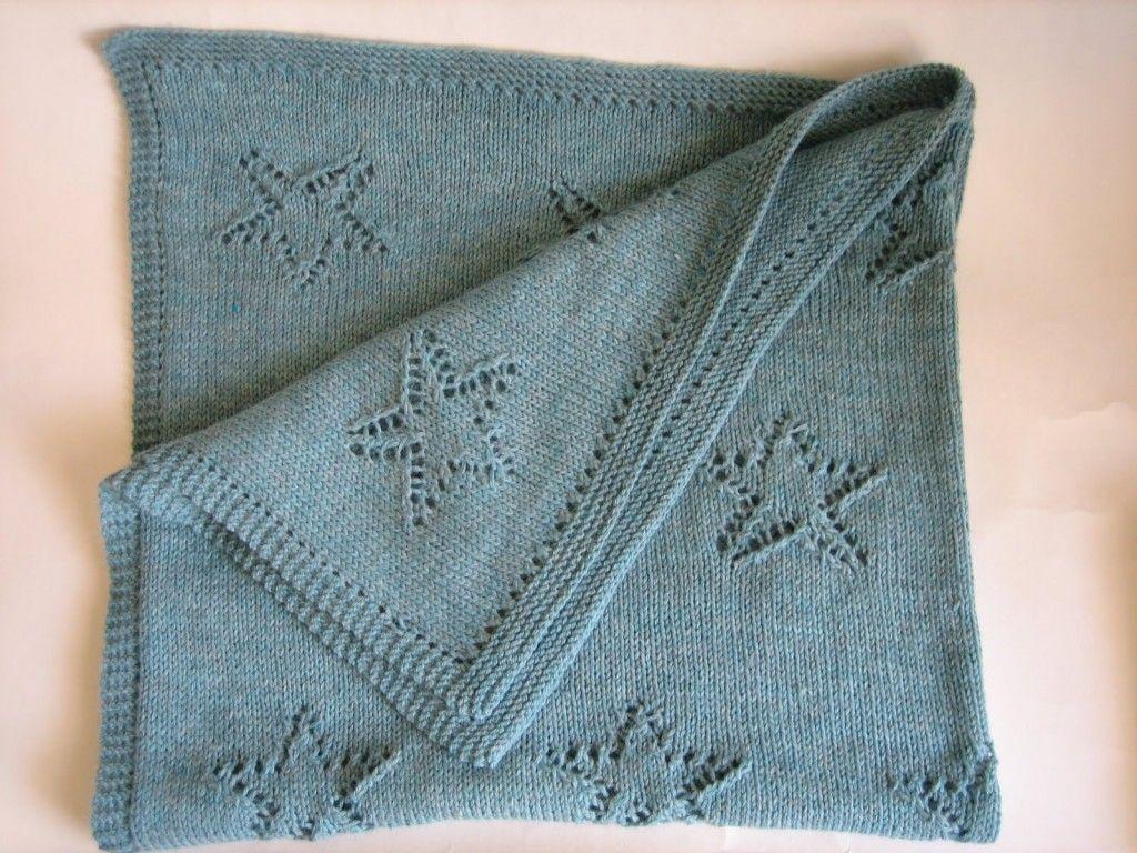 modele de couverture tricot pour bebe gratuit | Projets à essayer ...