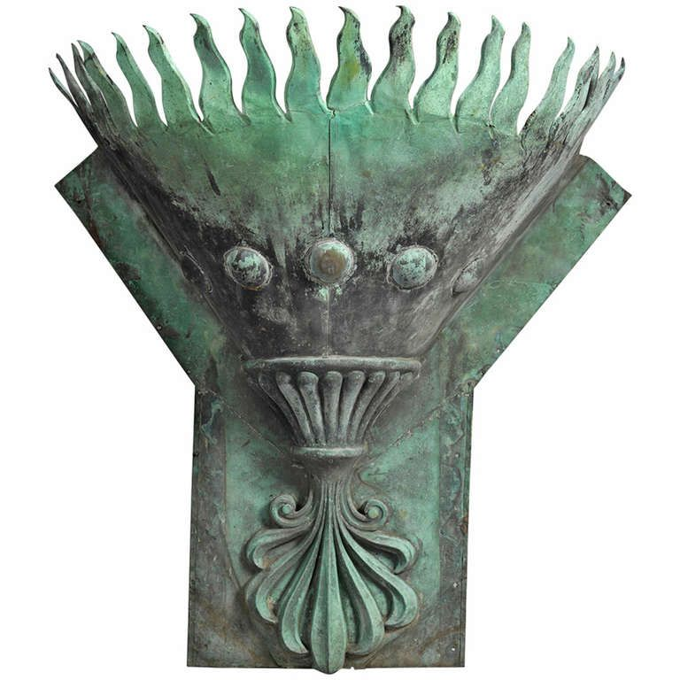Wonderful Massive Architectural Wall Sconce