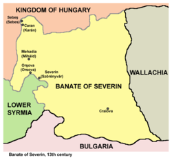 Banate of Severin - Wikipedia, the free encyclopedia