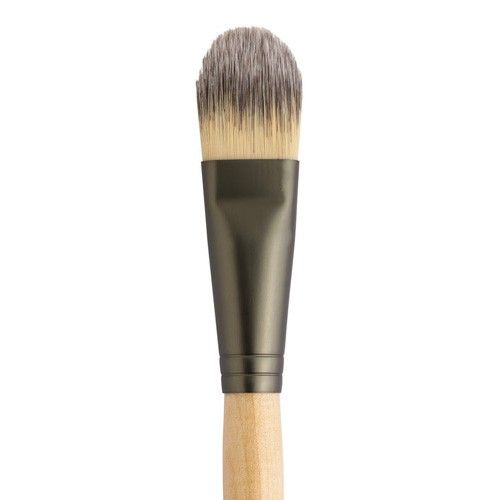Foundation Brush is a chiseled brush great for Liquid Minerals, Absence, or cream blush. Buy Jane Iredale cosmetics online at Mariposa Aesthetics & Laser Center.