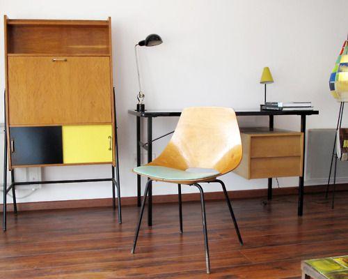 Midcenturia Pierre Guariche Tonneau Chair For Steiner Meubles 1954 Via Furniture Interior Design Interior