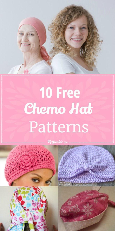 10 Easy Chemo Hat Patterns [Free] via @tipjunkie | Sewing Patterns ...