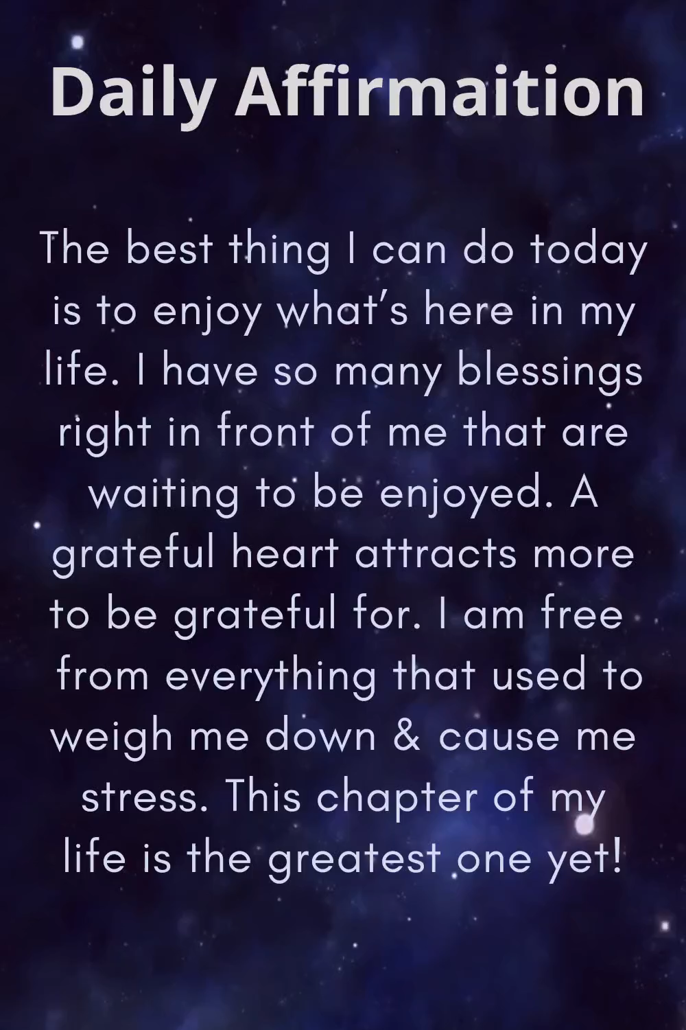 Positive Affirmation To Start Your Day How To Get Peace Instantly Video In 2020 Affirmation Quotes Positive Self Affirmations Positive Quotes