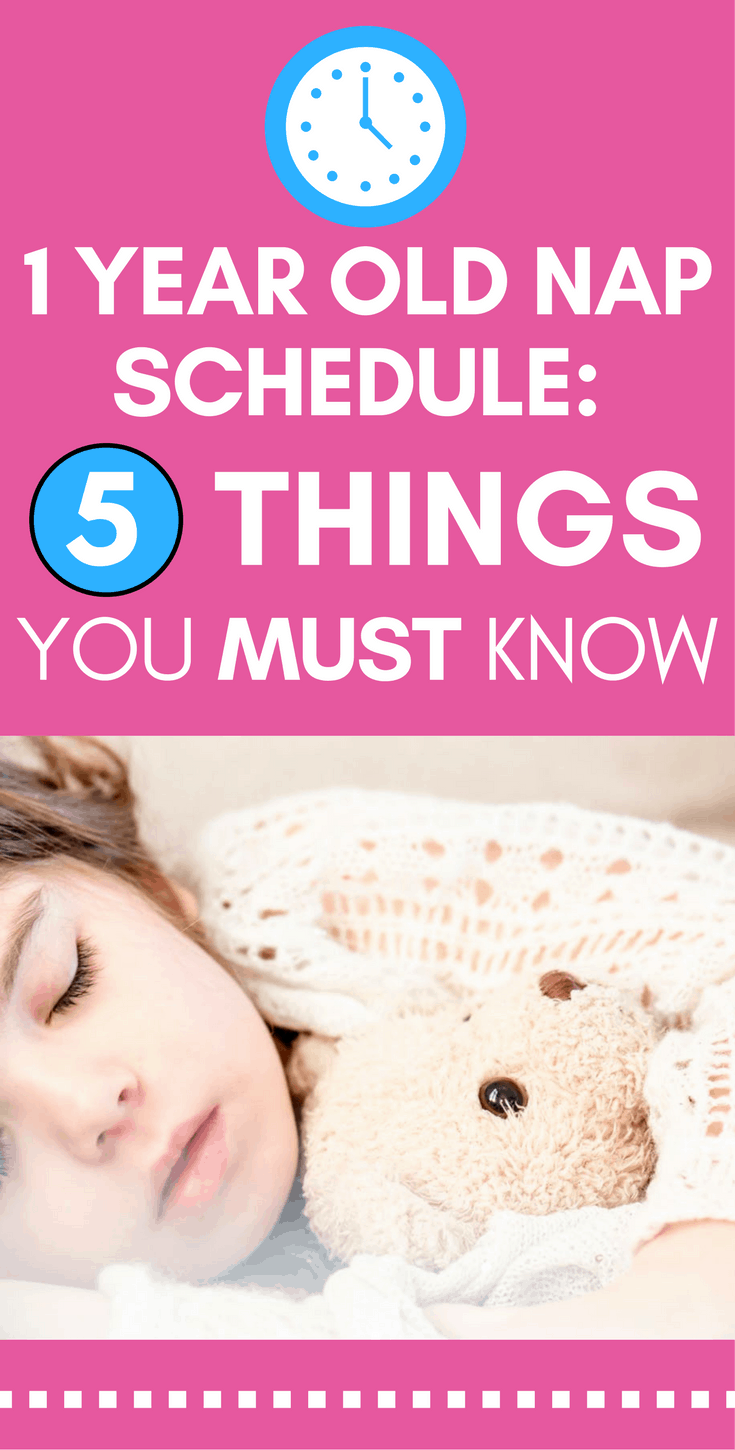 1 Year Old Nap Schedule: 5 Things You MUST Know | 1 year ...