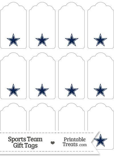 Dallas Cowboys Gift Tags from PrintableTreats.com  e49ccf873