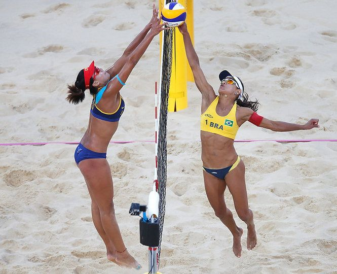 London Olympics Photos Women S Beach Volleyball Nj