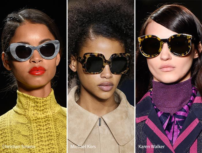 aaa44f6f64 Fall  Winter 2016-2017 Eyewear Trends  Sunglasses With Marble Frames