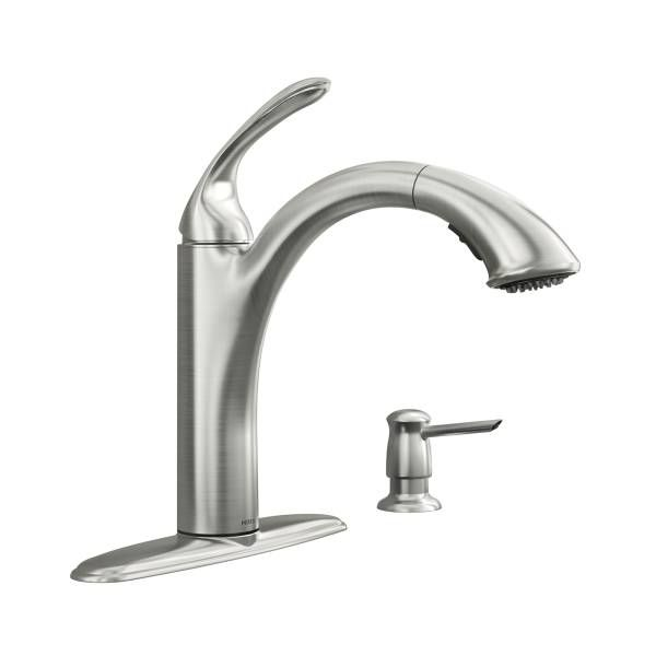Primary Image - 87035SRS all kitchen faucets  chrome