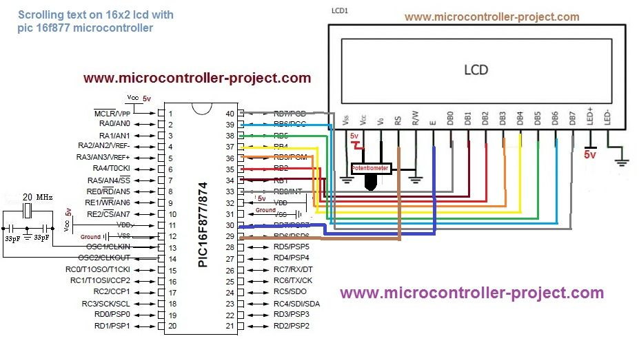 Amazing Scrolling Text On Lcd Circuit Diagram Electronics Scrolling Wiring Digital Resources Minagakbiperorg