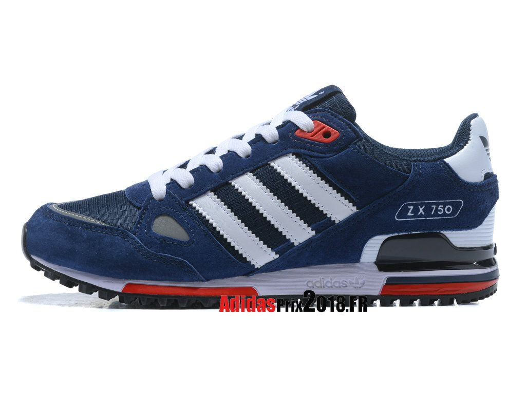 basket adidas homme zx 750 bleu