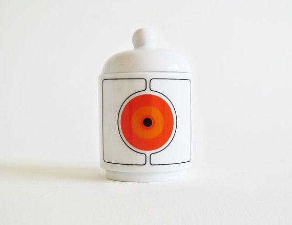 Vintage Space Age Mod Creamer Thomas Germany by Fairyknob on Etsy, $18.99