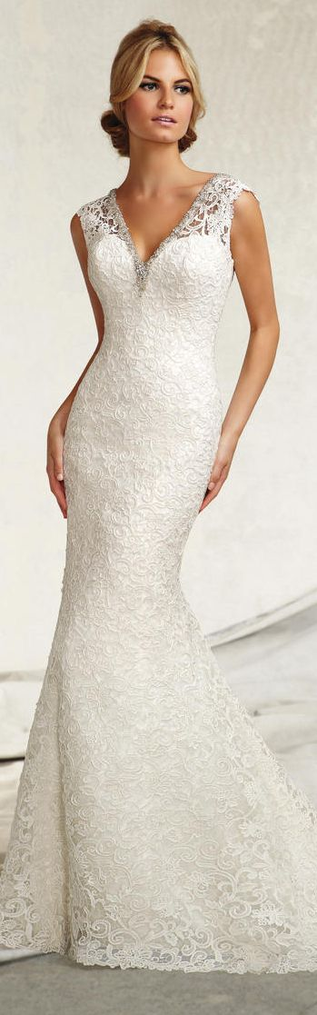 Perfect for an older bride or a second marriage. Would be lovely in ...