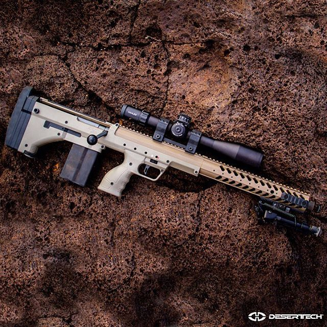YES, THAT IS A 10-RD MAG And, yes, you are going to get some very good news about it tomorrow! #deserttech #tomorrowsweapons