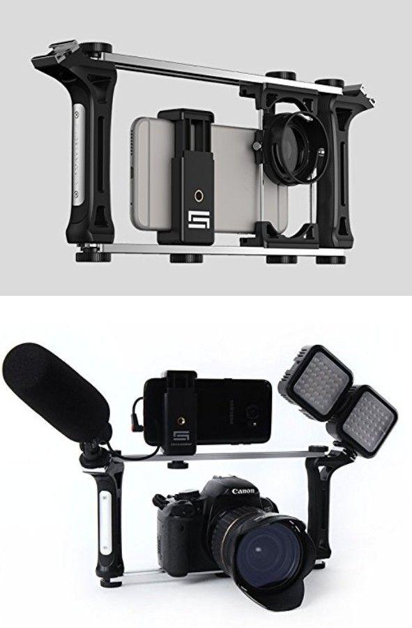 Dreamgrip Evolution Pro Smartphone / DSLR Rig | Best camera for photography. Camera rig. Vlogging camera