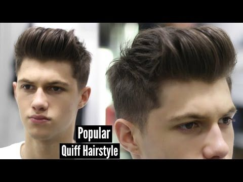 Youtube Quiff Hairstyles Mens Hairstyles Hair Tutorial