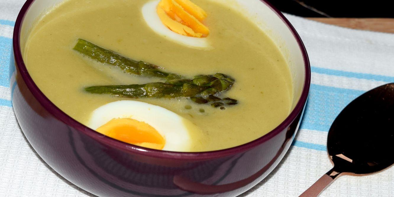 Zupa Krem Ze Szparagów Z Szafranem Kulinarny Blog Samanthy