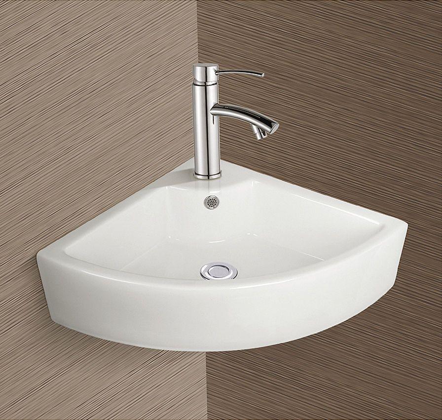 burgtal 17803 design keramik wandmontage eckwaschbecken handwaschbecken bkw 27 eckwaschbecken. Black Bedroom Furniture Sets. Home Design Ideas