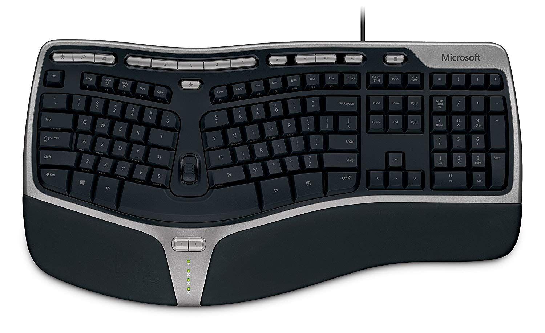 Microsoft Natural Ergonomic Keyboard 4000 Everybody S First Split Ergonomic Keyboard