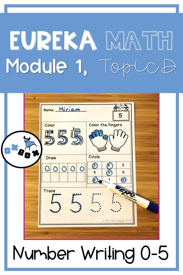 Eureka Math Module 1 Topic D Center Activity: Number ...
